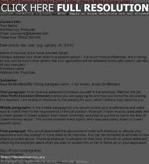 non profit cover letter samples best 20 examples of cover letters