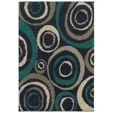 home decorators collection orbit teal 7 ft 10 in x 10 ft area
