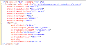 xamarin layout file add intellisense to xamarin axml files corrado s blog 2 0