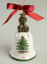 spode annual bell ornament at replacements ltd