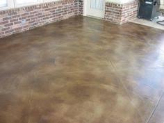 Diy Cement Patio by Diy Project How To Stain A Concrete Patio Diy Patio Concrete