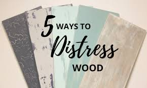 how to distress wood 5 ways to distress wood the plaid palette diy craft ideas