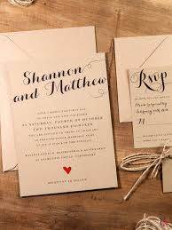 wedding invitation exle next day wedding invitations rustic wedding invitations templates