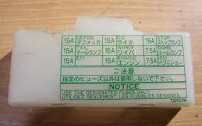 87 toyota pickup fuse box diagram toyota wiring diagram instructions