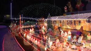christmas lights in pa christmas lights of white spruce lane levittown pa youtube