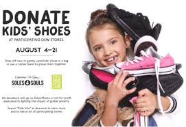 dsw kids shoe department and partnership with soles4souls