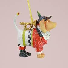 patience brewster u2013 mini bugler beagle ornament wooden duck shoppe