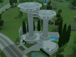 Home Design Career Sims 3 Sims 3 Futuristic Tower House By Ramborocky On Deviantart