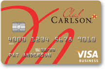 Rewards Business Credit Cards Club Carlson Rewards Visa Business Card