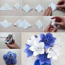 membuat hiasan bunga dari kertas lipat cara membuat bunga dari kertas kerajinantangankita com