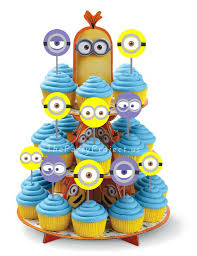 minions cake toppers diy printable minions cupcake toppers birthday party or baby