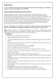 Best Resume Format For Mechanical Engineers by Download Refrigeration Design Engineer Sample Resume