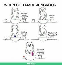 When God Made Me Meme - when god made jungkook bts pinterest bts bts memes and k pop
