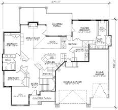 house plans monster craftsman style house plans 2406 square foot home 1 story 3