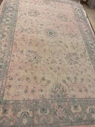 pottery barn adeline rug pottery barn adeline rug blue 4x6 floral leaves tufted wool