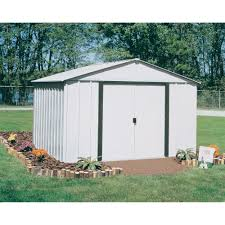 amazing arrow galvanized steel storage shed 63 on free firewood