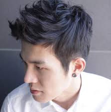 can asian hair be permed hairstyle of the week 18 stylish mid length perm his style diary