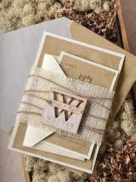 burlap wedding invitations custom listing 20 rustic wedding invitation burlap wedding