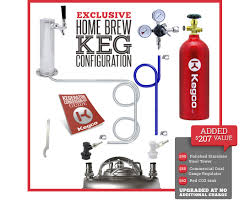 How Much Is A Kegerator Kegco Hbk209s 1 Full Size Single Faucet Draft Beer Dispensers