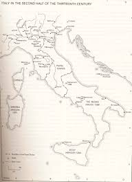 Map Of Italy And Sicily by Formation Of Italy