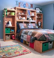 bookcase masculine boys room design idea featured black full
