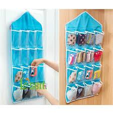 Underwear Organizer Small Clear Hanging Pocket Organizer For Underwear Or Sundries