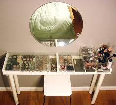 glass top vanity table diy makeup vanity brilliant setup for your room