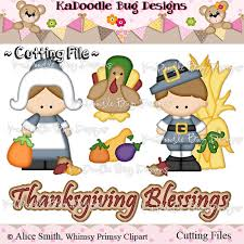 thanksgiving blessings 1 50 kadoodle bug designs cut files
