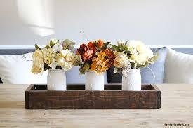 mason jar planter box centerpiece how to nest for less