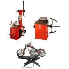 Motorcycle Tire Machine And Balancer Motorcycle Tire Changer Wheel Balancer Motorcycle Lift Triple