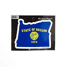 New Oregon Flag Oregon Home U0026 Auto Decals U0026 Magnets