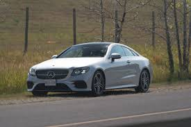 mercedes coupe review 2018 mercedes e400 4matic coupe review