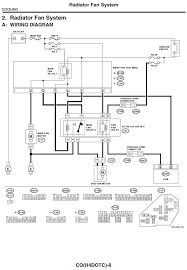 subaru cooling fan wiring diagram subaru wiring diagrams collection