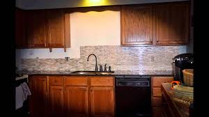 Kitchen Backsplash Installation Peel And Stick Quick Backsplash Installation Smart Tiles Youtube