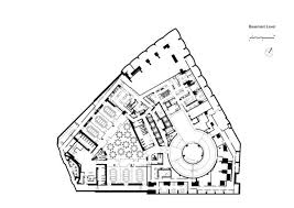 basement plan gallery of me hotel foster and partners 21