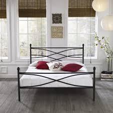 bedroom vintage metal bed frame iron cot king size metal bed
