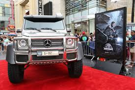 jurassic park car mercedes gallery mercedes benz at jurassic world premiere