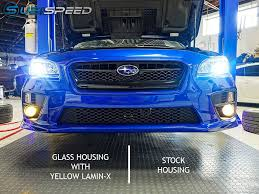 2015 subaru wrx modified fog light upgrade kit with glass housings 2015 wrx 2015 sti
