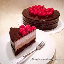 mandy u0027s baking journey strawberry and chocolate mousse cake