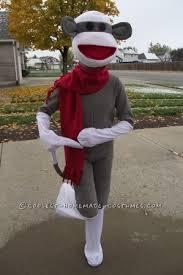 sock monkey costume cool sock monkey costume that ll knock your socks