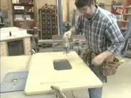 new yankee workshop shop projects make deluxe router station