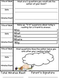 book reports for primary students reading comprehension skills