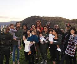 caitlyn and kris jenner join for family thanksgiving where s
