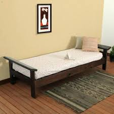 futon sofa bed 3 piece living room set plain walnut beds