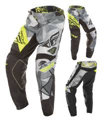 fly motocross jersey fly racing youth kinetic crux pants revzilla