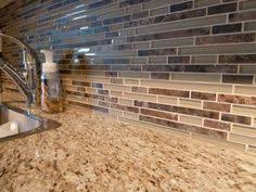 glass tile backsplash kitchen look how the glass tile backsplash contains all of the colors from