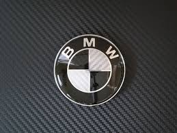 bmw logo 78mm carbon fiber bmw replacement trunk emblem u2013 bmw emblems