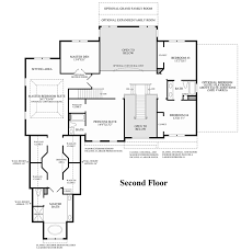 Double Master Bedroom Floor Plans by Greenville Overlook The Claridge Home Design