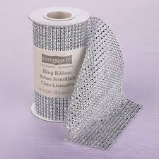 bling ribbon wedding department celebrate it bling ribbon wrap