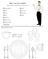 how do you set a table properly how to set a table the bright ideas blog